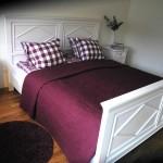 Sovrum med bra utrymme
